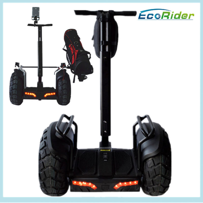 Standing Motorized Scooter / Adult Scooter Electric Balance Car Back Light Alarm