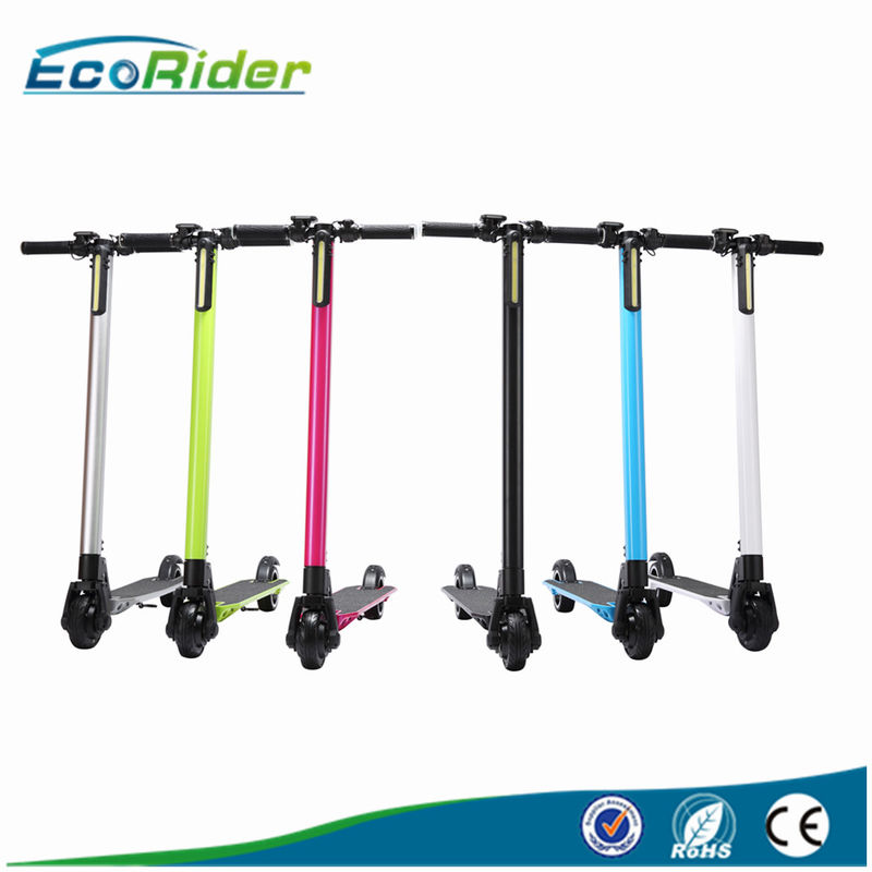 5'' Carbon Fiber Foldable Electric Scooter For Adults , 150KG Max Load
