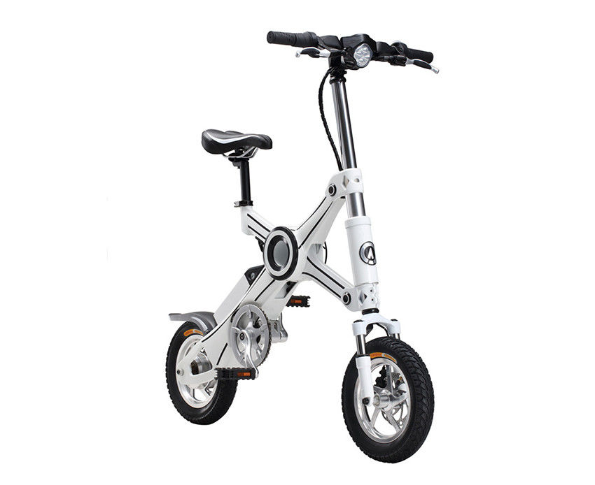 Max Range 40KM E Bike Folding Mini Electric Bike With 36V Voltage 8.5AH Lithium Battery