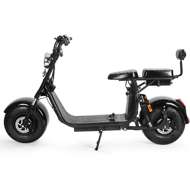 60V 12Ah Motorcycle Two Wheel Scooter Electric Citycoco Removable Battery E5-10